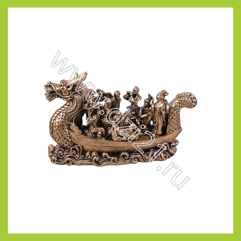 лодка дракон с богами